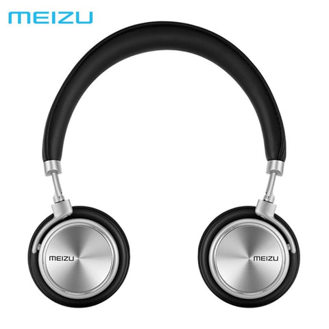 Headphones - Original Meizu HD50 HIFI Headhand Aluminium Alloy Shell Headphones