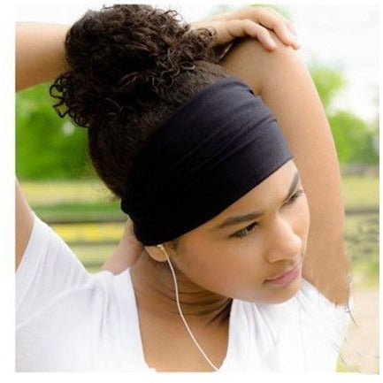 Headwear - Wide Elastic Sport Headband