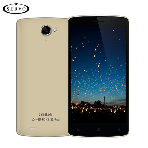 "Phones - Original SERVO Mobile Phone Android 5.1 IPS 5.0"" ROM 8G  Quad Core 1.3GHz 5.0MP GPS GSM WCDMA Unlocked Smartphone Celular Vowney"