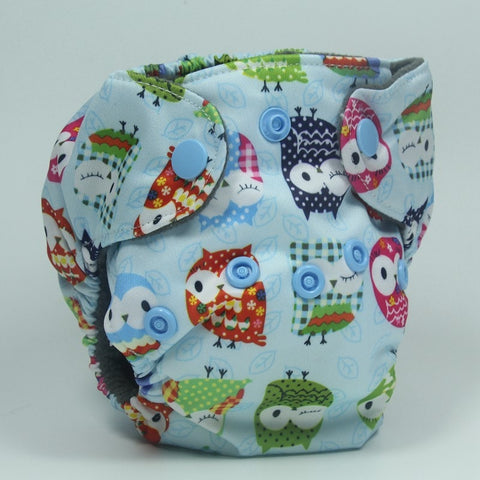 Colourful Owls Cloth Roamers