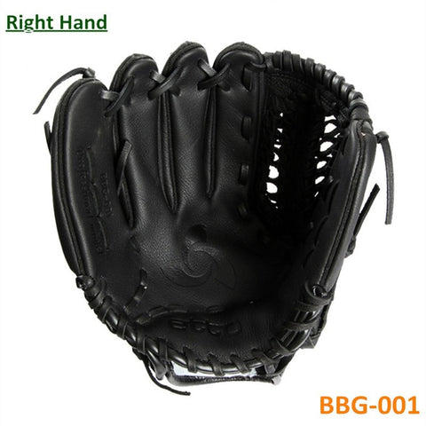 Top Quality Leather Material Male Professional Baseball Game Gloves Right Hand Player 11.5 12.75