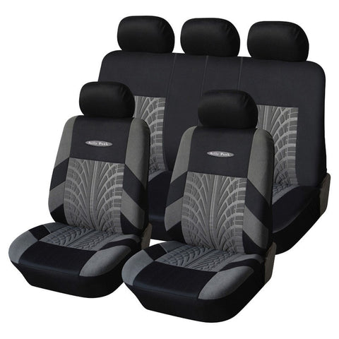 Polyester Fabric Universal Car Seats Cover Set