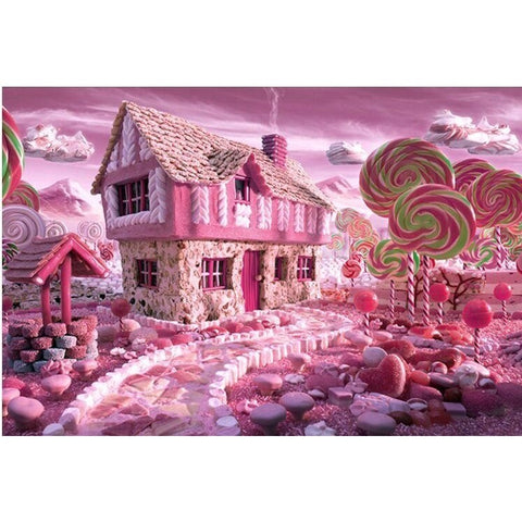 Puzzles - Sugar House Decompression And Upgraded Version Paper Artifact 1000 Pieces Jigsaw Puzzle White Card Adult Toys