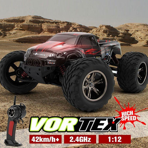 Remote Controlled - RC Car KF S911 1/12 2WD 42km/h Control Remote Car High Speed Remote Control Off Road Dirt Bike Toys Truck Traxxas Big Wheel