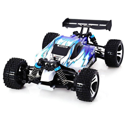 Remote Controlled - RC Car WLtoys A959 2.4G 1/18 Scale Remote Control Off-road Racing Car High Speed Stunt SUV Toy Gift For Boy RC Mini Car