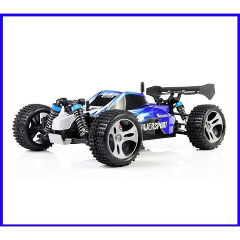 Remote Controlled - Wltoys A959 2.4G Radio Remote Control RC Car Kid Toy Model Scale 1:18 New Shockproof Rubber Wheels Buggy Highspeed Off-Road