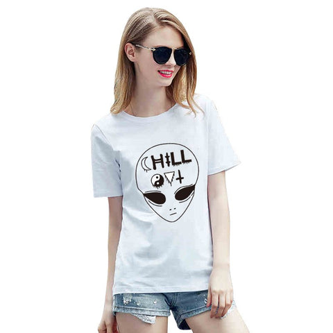 Sunday Gold - Chill Alien T-Shirt