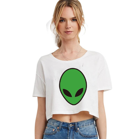 Shirts - Green Alien T-Shirt