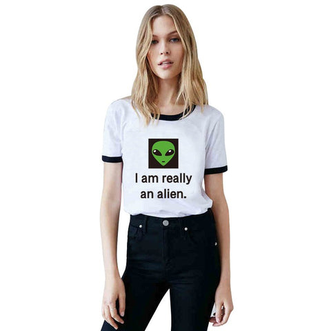 Shirts - I Am Really An Alien T-Shirt