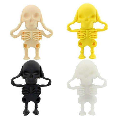 Sunday Gold - Creative Skull usb flash drives 8GB 16GB 32GB 64GB