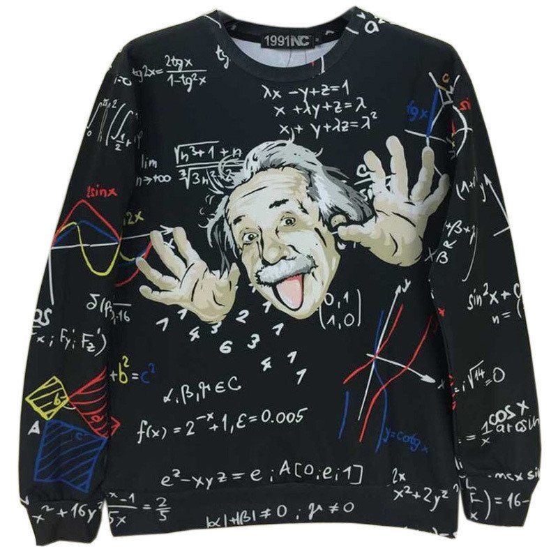 Sweaters - Nerdy Einstein Sweater
