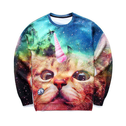 Sweaters - Unicorn Cat Sweater