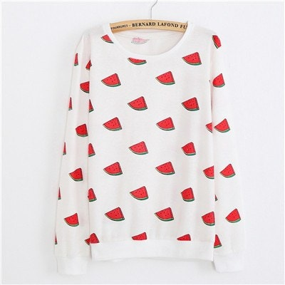 Sweaters - Watermelons Pullover Sweater (One Size)