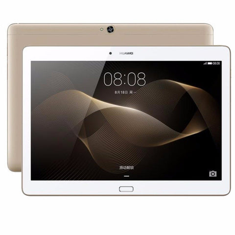 Tablets - Huawei MediaPad M2 10.0 Tablet PC 10.1 Inch Kirin 930 Octa Core 3GB 16GB/ 64GB 5MP+13MP 6660mAh (4G LTE) WIFI GPS