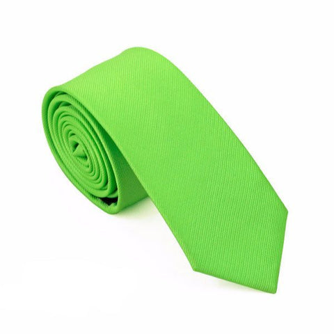 Sunday Gold - Basic Lime Skinny Tie