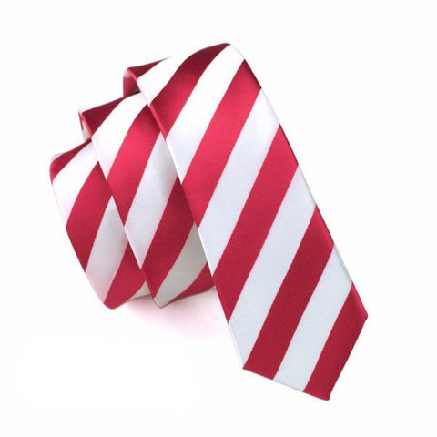 Sunday Gold - Candy Cane Skinny Tie