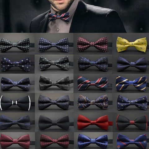 Ties - Satin Bowties