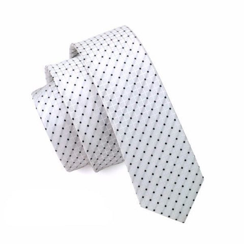 Ties - Tiny Polka Dot Skinny Tie