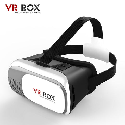Virtual Reality - VR BOX II 2.0 Google Cardboard 3D Movie Games Glasses Version Virtual Reality Glass For IPhone 5 6 6s Plus Samsung S7 S6 Edge S5