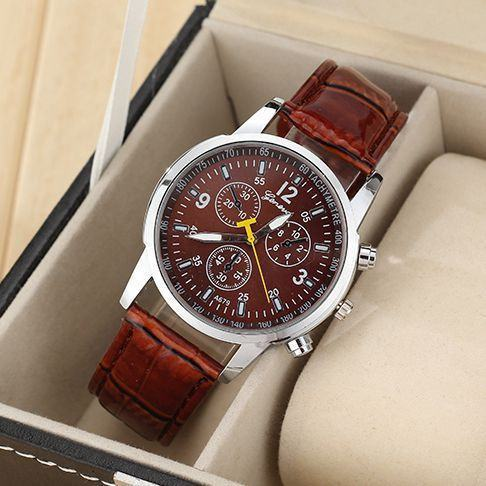 Watches - Leather Strapped Business Watch