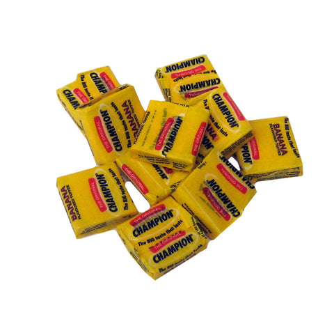 Champion Banana flavoured toffee 10g x 10