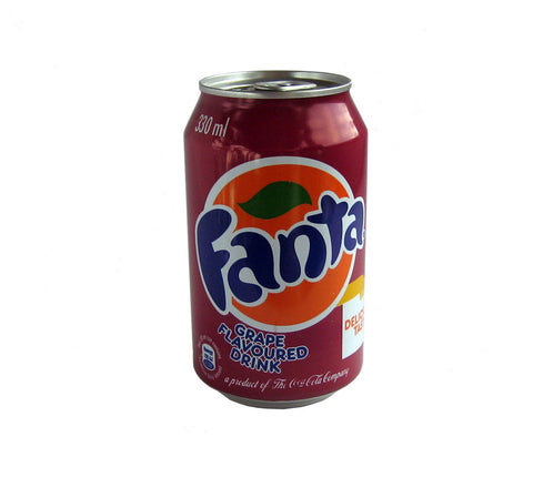 Fanta Grape flavoured drink 330ml