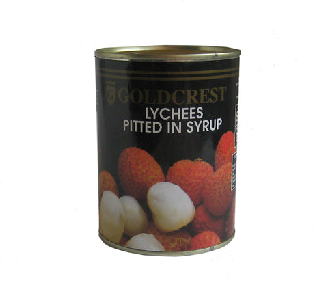 Goldcrest Lychees (pitted in syrup) 567g