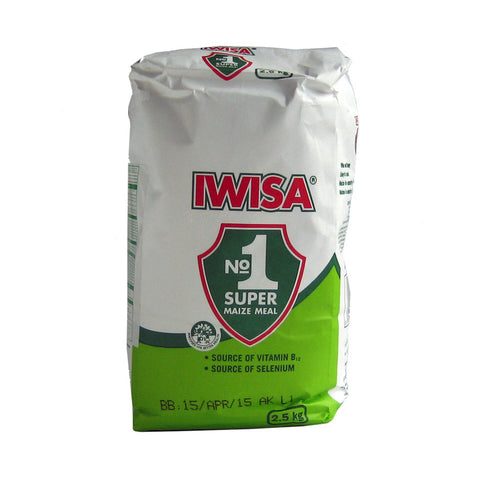 Iwisa Maize meal 2.5 Kg