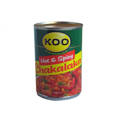 Koo Hot & Spicy Chakalaka 410g