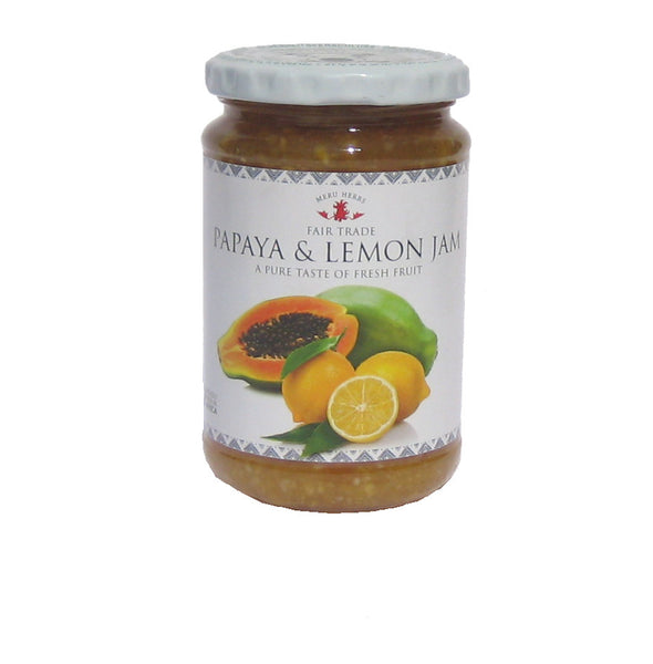 Meru Herbs Papaya & Lemon Jam 330g