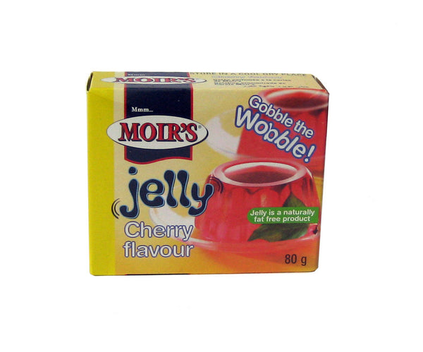Moir's jelly Cherry flavour 80g