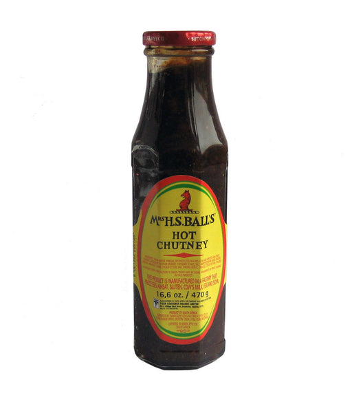 Mrs H.S. Ball's Hot Chutney 470g