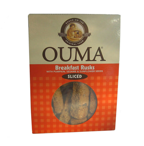 Ouma Breakfast sliced rusks 450g