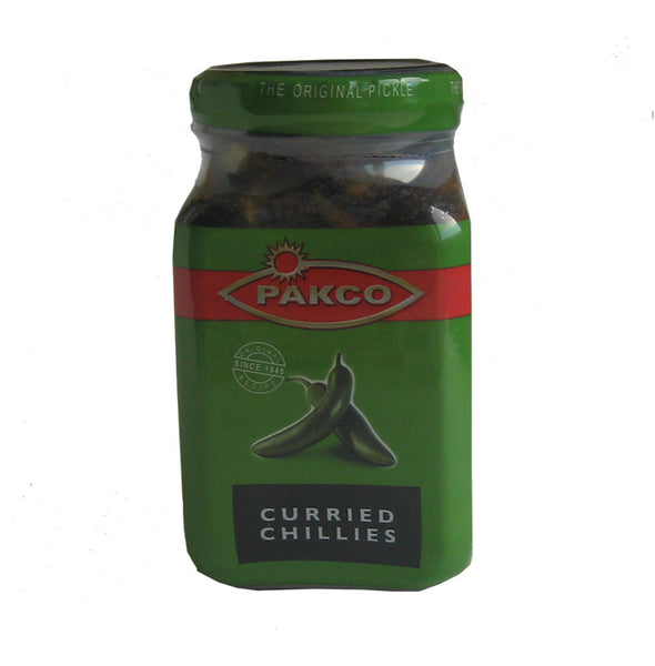 Pakco Curried chillies 350g