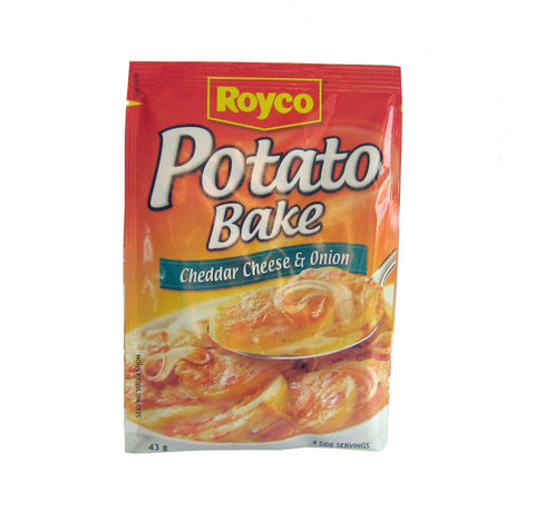 Royco Potato Bake Cheddar Cheese & Onion 43g