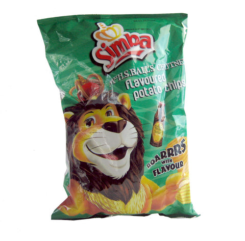 Simba Mrs H.S. Ball's chutney flavoured chips 125g