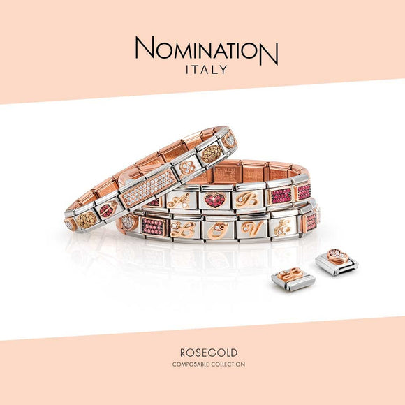 Nomination Composable 9k Rose Gold Collection