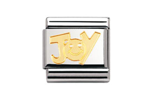 Nomination Charm Gold Joy