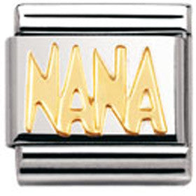 Nomination Charm Gold Nana