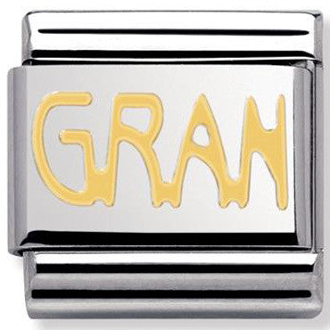 Nomination Gold Gran Charm