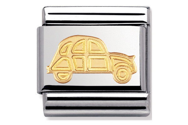 Nomination Charms Gold Car