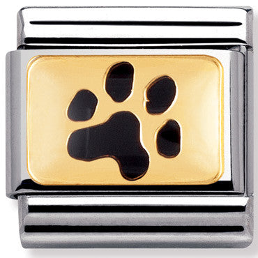 Nomination Charm Dog Paw Print