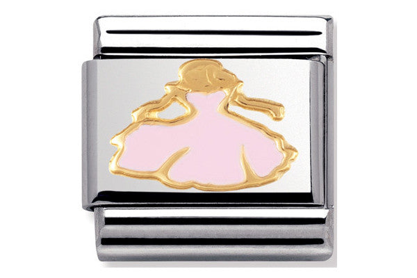 Nomination Enamel Charm Princess