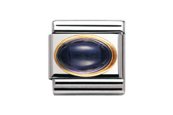 Nomination Charm Oval Iolite