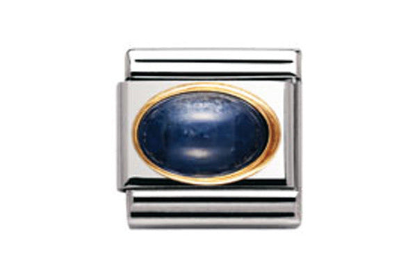 Nomination Charm Oval Sapphire