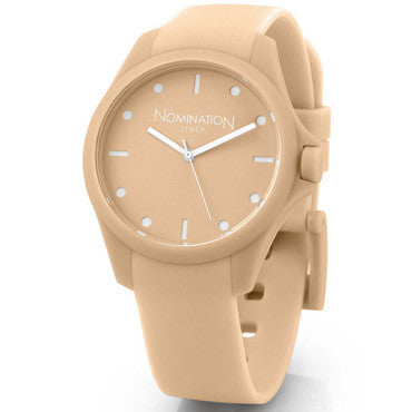 Nomination Pure Time Watch Beige