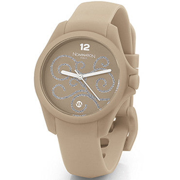Nomination Pure Time Watch Beige Grey Colour