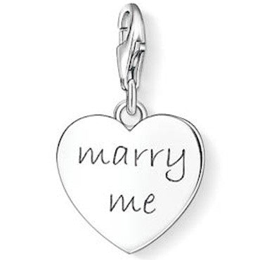 SALE Thomas Sabo Marry Me Charm