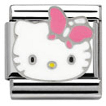 Nomination Hello Kitty Pink Butterfly Charm