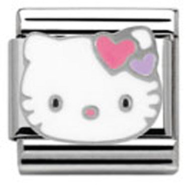 Nomination Hello Kitty Pink Heart Charm
